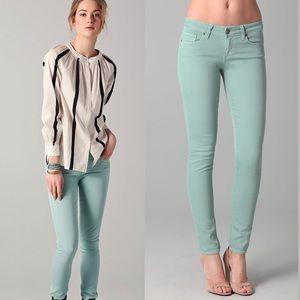 Paige mint Skinny Jeans !!